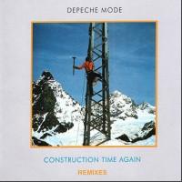DEPECHE MODE Construction Time Again Remixes CD