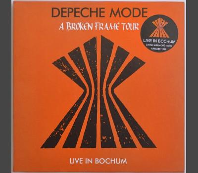DEPECHE MODE A Broken Frame Tour: Live in Bochum, Germany 1982 CD in cardboard box