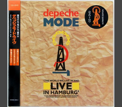 DEPECHE MODE The World We Live In And Live in Hamburg CD