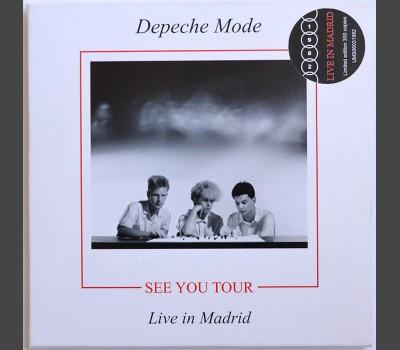 DEPECHE MODE See You Tour: Live in Madrid, Spain 1982 (soundboard) CD in cardboard box