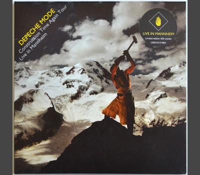 DEPECHE MODE Construction Time Again Tour: Live in Mannheim, Germany 1983 CD in cardboard box