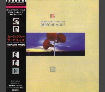 DEPECHE MODE Music For The Masses JAPAN MINI-LP 2010 edition CD