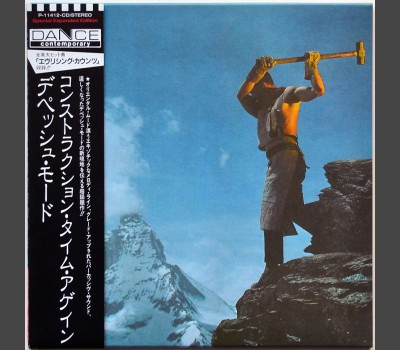 DEPECHE MODE Construction Time Again Japan cardsleeve edition CD