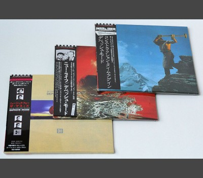 DEPECHE MODE  Japan Mini-LP Cardsleeve Edition 3xCD SET