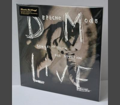 DEPECHE MODE Songs of Faith and Devotion Live VINYL LP Gatefold MOVLP 2014 EU
