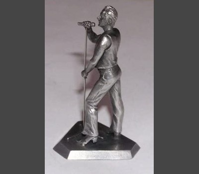 DAVE GAHAN Depeche Mode Exclusive Touring The Angel Pewter Figure Tin Figurine
