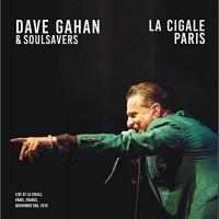 DAVE GAHAN & SOULSAVERS Live at La Cigale Pairs 2015 CD