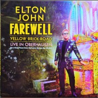 ELTON JOHN Live in Oberhausen 2019 Yellow Brick Road Tour 2CD set