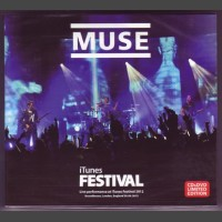 MUSE iTunes Festival CD+DVD set
