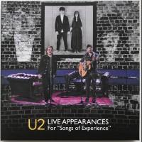 U2 Live Appearances 2018 CD+DVD set