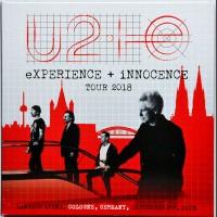 U2 Live in Koln 2018 eXPERIENCE + iNNOCENCE Tour 2CD set