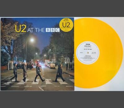 U2 at the BBC LP yellow vinyl record